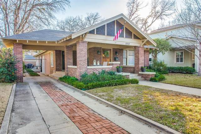 2313 Irwin Street, Fort Worth, TX 76110 (MLS #14498663) :: Maegan Brest   Keller Williams Realty
