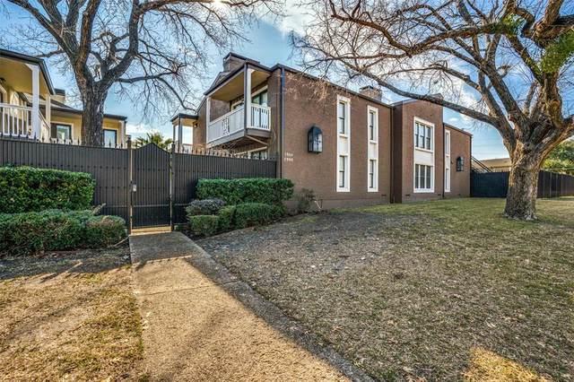 5904 Sandhurst Lane #147, Dallas, TX 75206 (MLS #14499349) :: Post Oak Realty