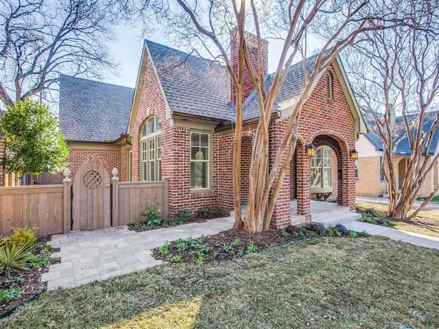 5218 Homer Street, Dallas, TX 75206 (MLS #14499538) :: The Mauelshagen Group