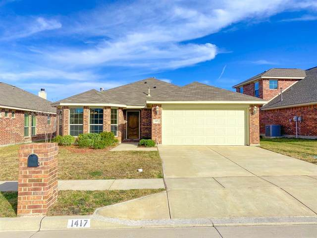 1417 Sun Drive, Fort Worth, TX 76108 (MLS #14499591) :: The Kimberly Davis Group