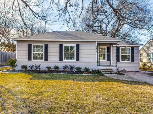 2244 Farola Drive, Dallas, TX 75228 (MLS #14499593) :: Results Property Group