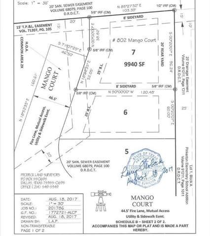 802 Mango Court, Coppell, TX 75019 (MLS #14499611) :: The Kimberly Davis Group