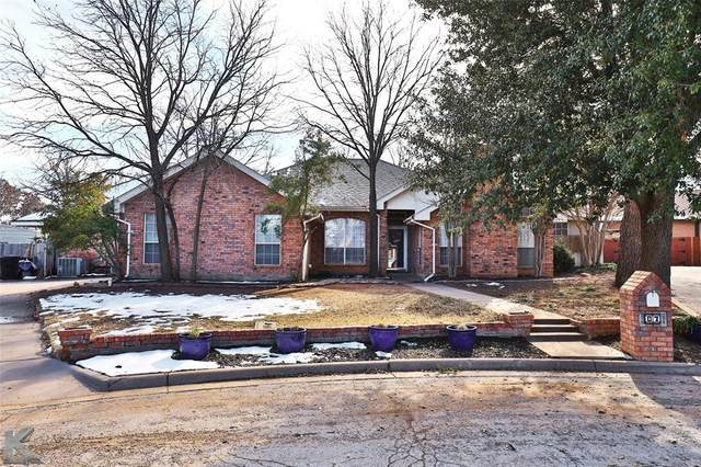 7 Olympic Circle, Abilene, TX 79606 (MLS #14499735) :: Maegan Brest | Keller Williams Realty