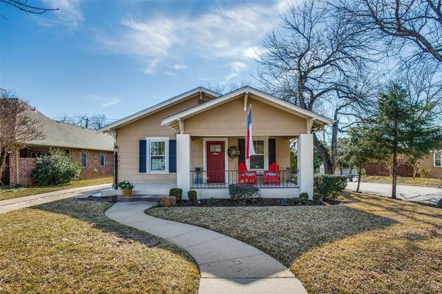 4639 Birchman Avenue, Fort Worth, TX 76107 (MLS #14499821) :: The Chad Smith Team