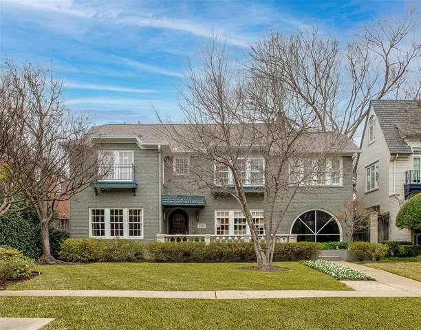 4032 Windsor Avenue, University Park, TX 75205 (MLS #14499882) :: HergGroup Dallas-Fort Worth