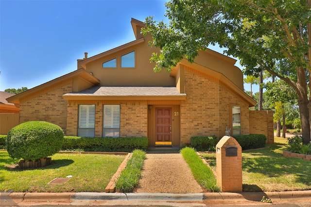 21 Surrey Square, Abilene, TX 79606 (MLS #14499910) :: Lyn L. Thomas Real Estate | Keller Williams Allen