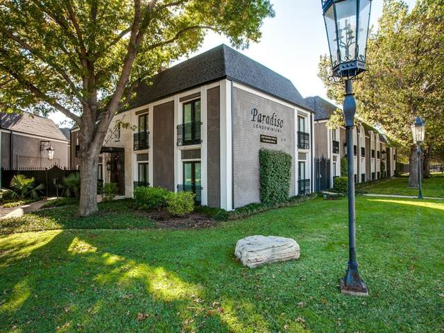 10109 Regal Park Lane #215, Dallas, TX 75230 (MLS #14500001) :: Real Estate By Design