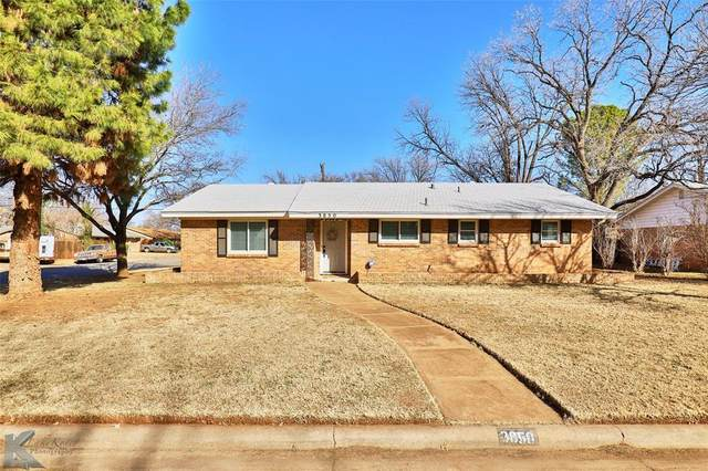 3850 Brookhollow Drive, Abilene, TX 79605 (MLS #14500095) :: The Mauelshagen Group