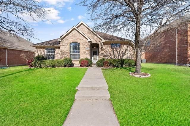 7164 Bramblebush Drive, Frisco, TX 75033 (MLS #14500409) :: The Mauelshagen Group
