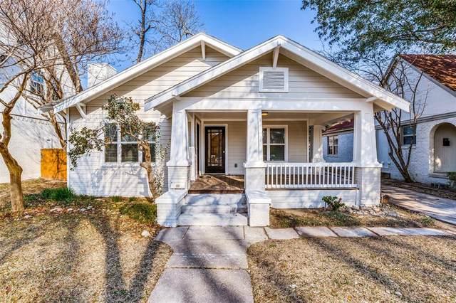 5311 Goodwin Avenue, Dallas, TX 75206 (MLS #14500664) :: The Mauelshagen Group