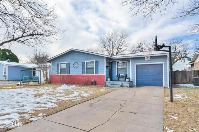 1274 S Jefferson Drive, Abilene, TX 79605 (MLS #14500883) :: Lyn L. Thomas Real Estate | Keller Williams Allen