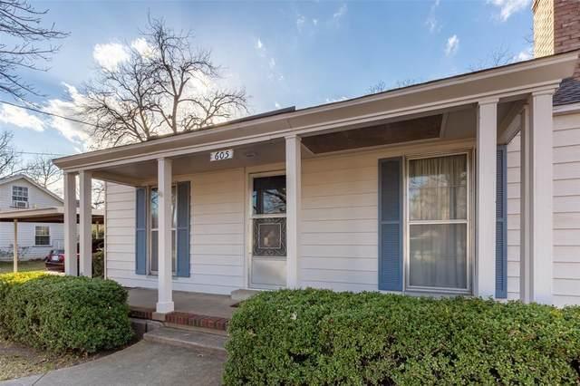 605 Frontier Street, River Oaks, TX 76114 (MLS #14500913) :: The Kimberly Davis Group