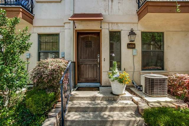 1004 Pavillion Street, Dallas, TX 75204 (MLS #14501037) :: The Mauelshagen Group