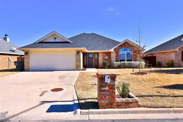 4933 Many Waters Drive, Abilene, TX 79602 (MLS #14501148) :: The Kimberly Davis Group