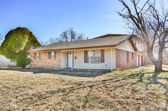 3869 Wilshire Drive, Abilene, TX 79603 (MLS #14501632) :: The Mauelshagen Group
