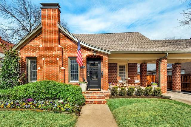 5443 Vanderbilt Avenue, Dallas, TX 75206 (MLS #14502017) :: Post Oak Realty