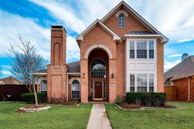 871 Lakeview Drive, Coppell, TX 75019 (MLS #14502038) :: The Mauelshagen Group