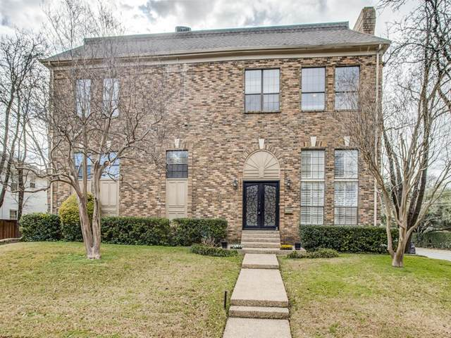 3687 Asbury Street, University Park, TX 75205 (MLS #14502127) :: The Mauelshagen Group