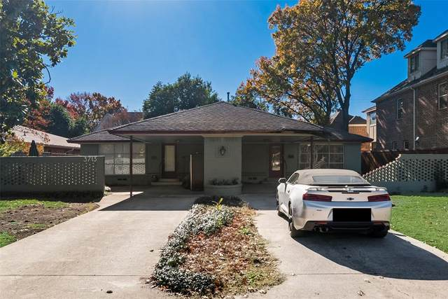 3715 North West Parkway, University Park, TX 75225 (MLS #14502180) :: The Mauelshagen Group