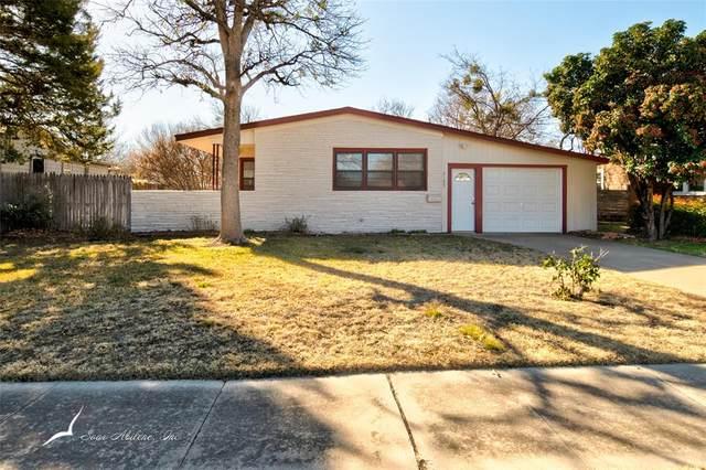 3125 Over Street, Abilene, TX 79605 (MLS #14502374) :: The Chad Smith Team