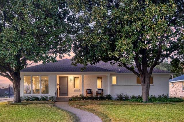 6711 Santa Maria Lane, Dallas, TX 75214 (MLS #14502507) :: Robbins Real Estate Group