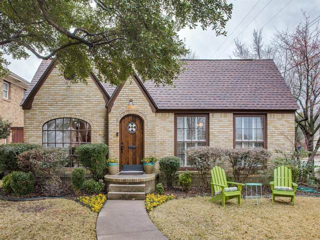 803 Monte Vista Drive, Dallas, TX 75223 (MLS #14502637) :: All Cities USA Realty