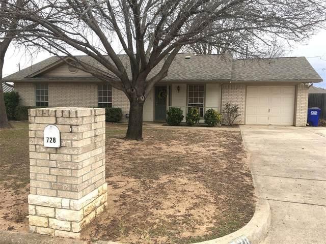 728 Oak Park Drive, Azle, TX 76020 (MLS #14502760) :: The Kimberly Davis Group