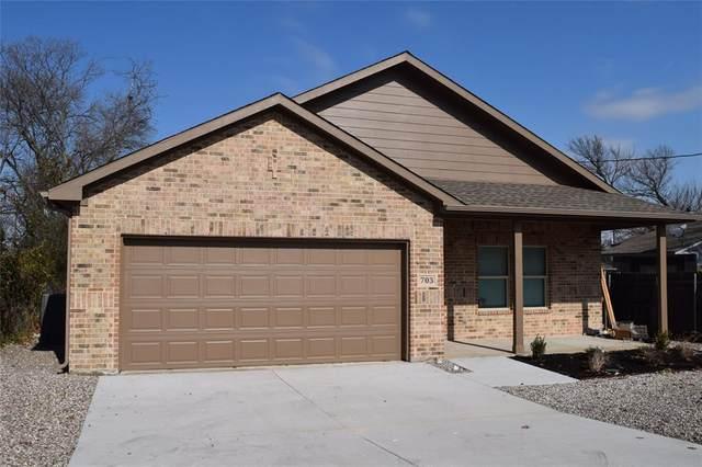 703 Peach Street, Arlington, TX 76011 (MLS #14503076) :: Team Hodnett