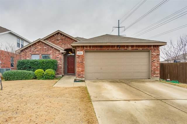 4400 Grassy Glen Drive, Fort Worth, TX 76244 (MLS #14503318) :: Justin Bassett Realty