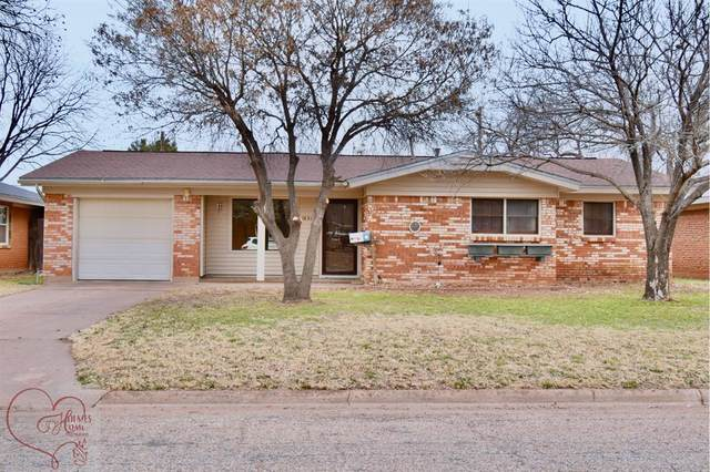 1431 Mimosa Drive, Abilene, TX 79603 (MLS #14503403) :: The Mauelshagen Group