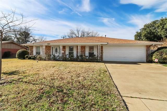 3417 Jonette Drive, Richland Hills, TX 76118 (MLS #14503500) :: The Hornburg Real Estate Group