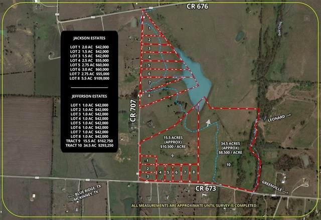 Lot 4 Cr 707, Leonard, TX 75452 (MLS #14503695) :: The Kimberly Davis Group