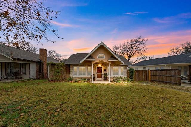 4725 Birchman Avenue, Fort Worth, TX 76107 (MLS #14504173) :: The Mauelshagen Group