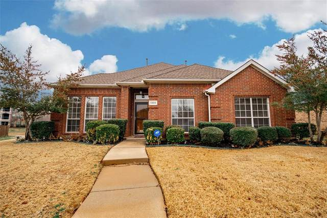 1409 Summerwind Lane, Lewisville, TX 75077 (MLS #14504250) :: The Rhodes Team