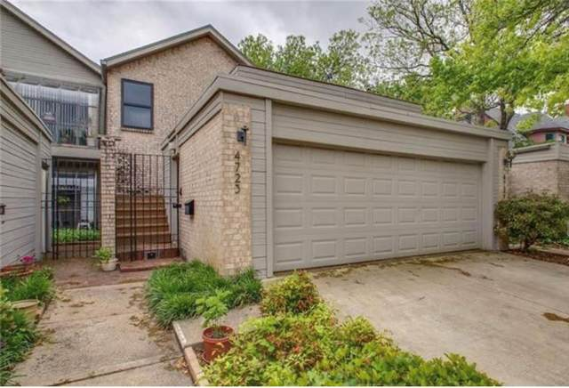4723 Collinwood Avenue, Fort Worth, TX 76107 (MLS #14504491) :: Premier Properties Group of Keller Williams Realty