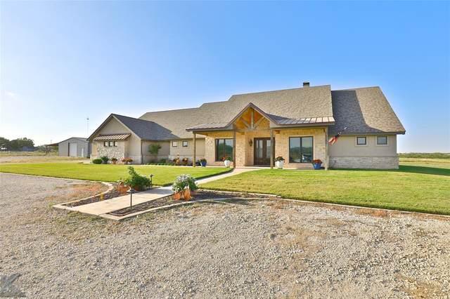 135 Rondo Road, Tuscola, TX 79562 (MLS #14504625) :: The Star Team   JP & Associates Realtors