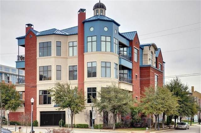 601 E 1st Street #210, Fort Worth, TX 76102 (MLS #14504710) :: The Rhodes Team