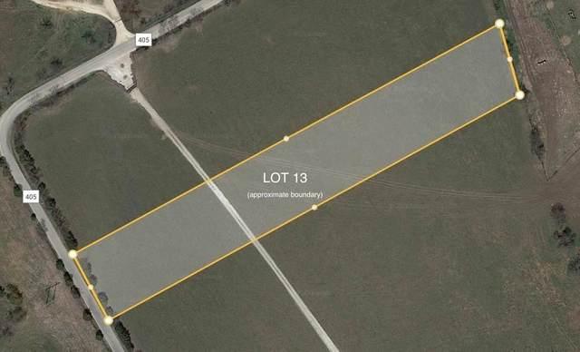 TBD County Rd 405, Alvarado, TX 76009 (MLS #14504768) :: Post Oak Realty
