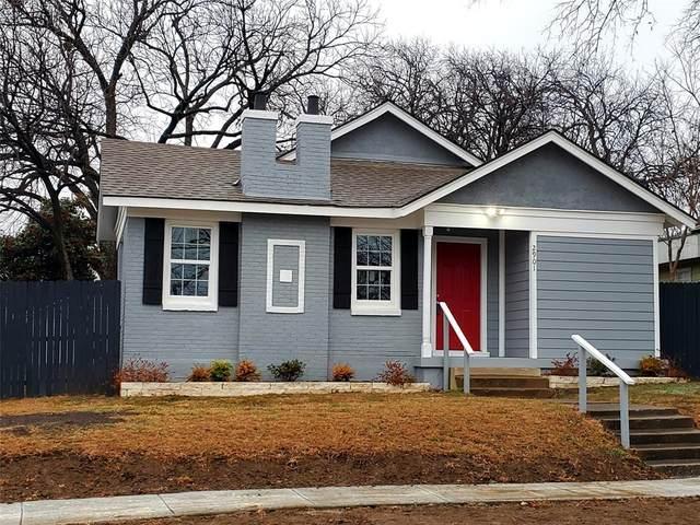 2901 Mt Vernon Avenue, Fort Worth, TX 76103 (MLS #14504796) :: The Mauelshagen Group