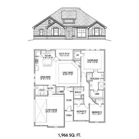 105 Oakwood Hills, Paradise, TX 76073 (MLS #14505084) :: Premier Properties Group of Keller Williams Realty