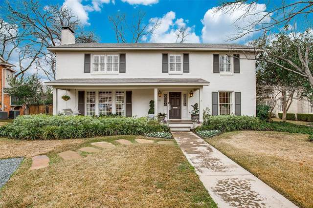 5418 W University Boulevard, Dallas, TX 75209 (MLS #14505299) :: The Chad Smith Team