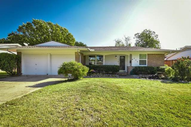 304 Brookwood Drive, Richardson, TX 75080 (MLS #14505358) :: The Good Home Team