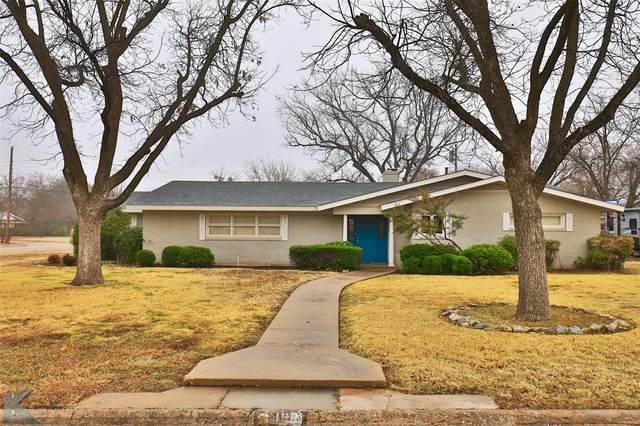 1801 Sylvan Drive, Abilene, TX 79605 (MLS #14505384) :: The Mauelshagen Group