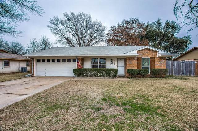 1211 Cozby Street E, Benbrook, TX 76126 (MLS #14505425) :: The Property Guys