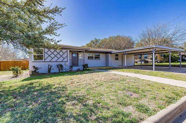 605 Crestview Drive, Granbury, TX 76048 (MLS #14505466) :: The Kimberly Davis Group