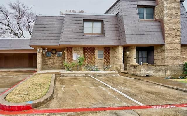 207 E Harwood Road #22, Euless, TX 76039 (MLS #14505508) :: The Mauelshagen Group