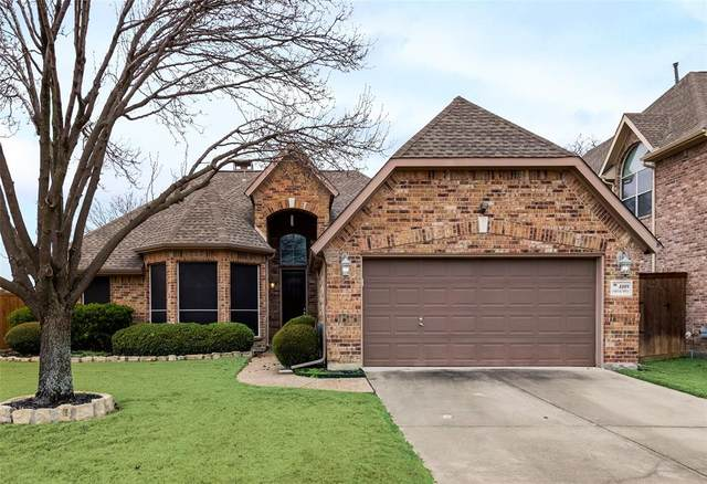 4109 Creek Hill Lane, Corinth, TX 76208 (MLS #14505584) :: The Good Home Team
