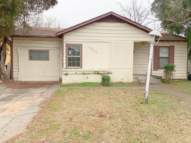 3871 Dowdell Street, Fort Worth, TX 76119 (MLS #14505630) :: The Chad Smith Team