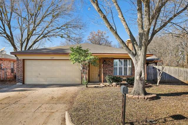 537 Mockingbird Drive, Mansfield, TX 76063 (MLS #14505863) :: Jones-Papadopoulos & Co