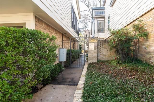 3936 Travis Street #109, Dallas, TX 75204 (MLS #14505888) :: The Mauelshagen Group